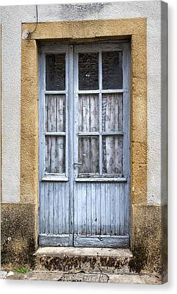 Pale Blue And Old Canvas Print