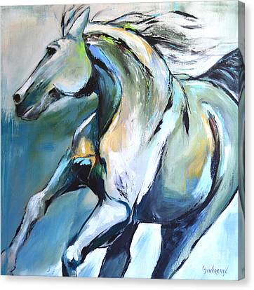 Pale Horse Canvas Print
