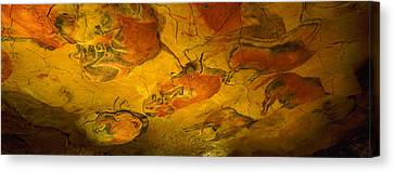 Paleolithic Paintings, Altamira Cave Canvas Print by Panoramic Images
