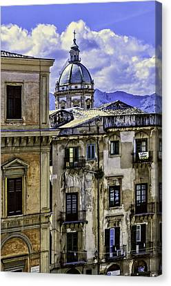 Palermo Canvas Print by Maria Coulson