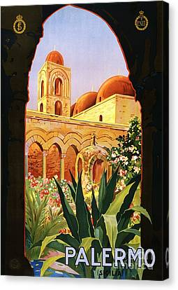 Palermo Canvas Print by Pg Reproductions