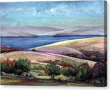 Palestine View Canvas Print by Mikhail Savchenko