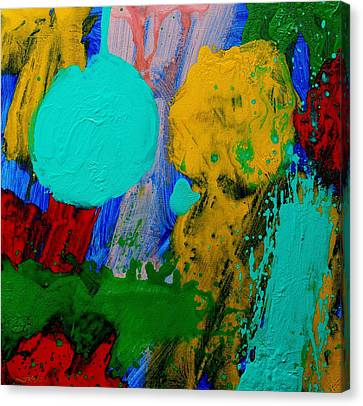Abstract Movement Canvas Print - Palimpsest IIi by John  Nolan