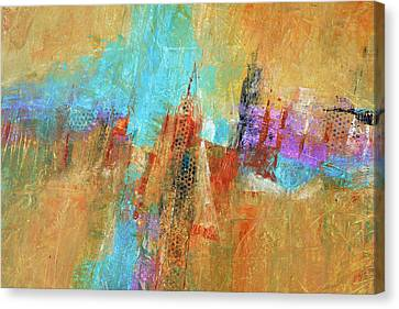 Palisades Canvas Print by Filomena Booth