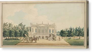 Palladian Garden-house Canvas Print
