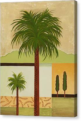 Palm Desert Canvas Print by Carol Sabo