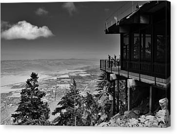 Palm Springs Aerial Tramway View Canvas Print by David Lobos
