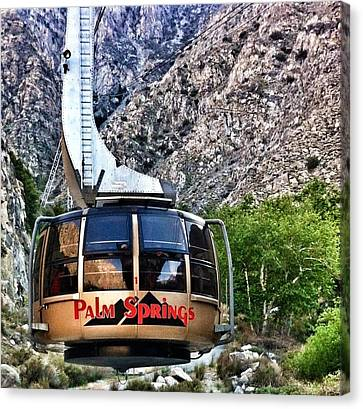 Palm Springs Tram 2 Canvas Print