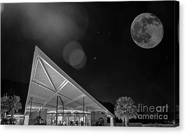 Palm Springs Visitor Center Canvas Print by Art K