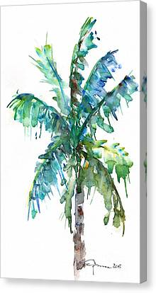 Palm Tree 2015 Canvas Print