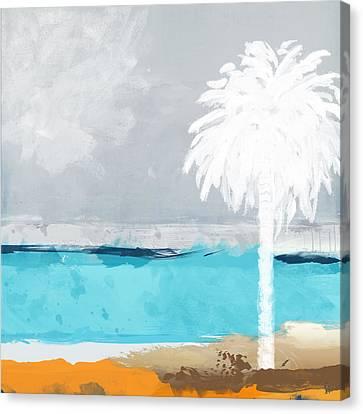 Palm Tree Canvas Print by Galia Nof Taboch
