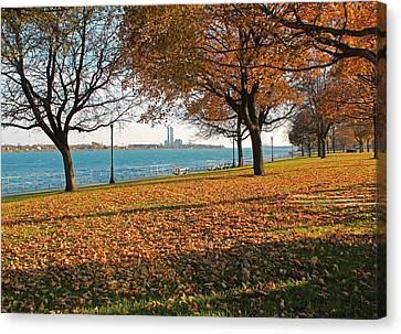 Palmer Park In The Fall Canvas Print