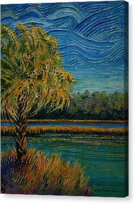 Palmetto State Canvas Print