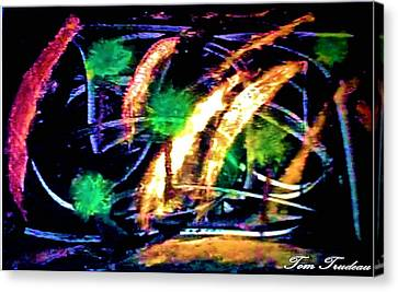 Culinary Canvas Print - Palms by Tommi Trudeau