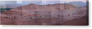 Palmyra Syria Valley Of The Tombs Canvas Print