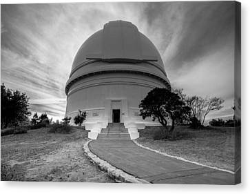 Canvas Print featuring the photograph Palomar Observatory by Robert  Aycock