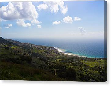 Palos Verdes Peninsula Canvas Print by Heidi Smith