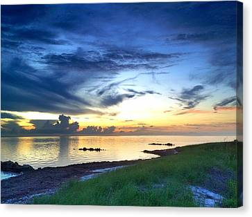Pamlico Sunset Canvas Print