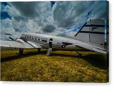 Pan American Airways Dc3 Canvas Print by Puget  Exposure