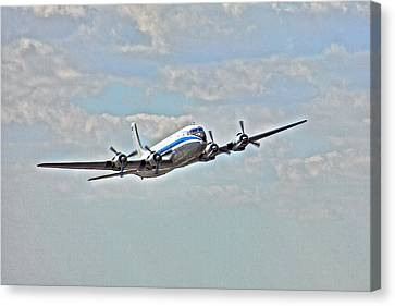Pan American Clipper Canvas Print by William Wetmore