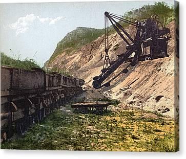 Panama Canal Culebra Cut Canvas Print by Granger
