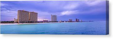 Panama City Beach Canvas Print - Panama City Beach by David Morefield