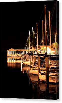 Panama City Marina Canvas Print