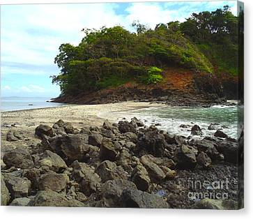 Panama Island Canvas Print by Carey Chen