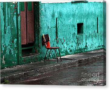 Panama Red Canvas Print by John Rizzuto