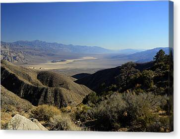 Panamint Valley Canvas Print - Panamint Valley November 21 2014 by Brian Lockett