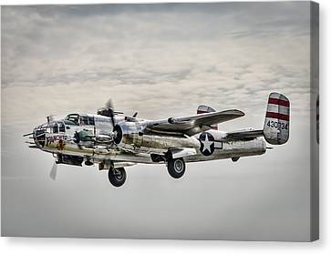 Panchito B-25 Canvas Print by Brian Young