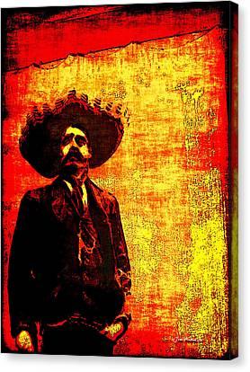 Pancho Villa Canvas Print by Joan  Minchak