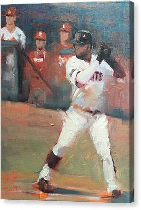 Panda 2014 Nlcs Canvas Print by Darren Kerr