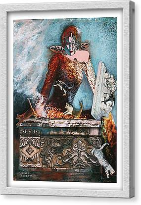 Pandora's Box Canvas Print by Eve Riser Roberts