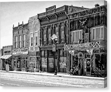Canvas Print featuring the photograph Panguitch Utah by Kathy Churchman