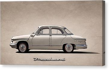 Panhard Pl17 Tigre Canvas Print by Douglas Pittman