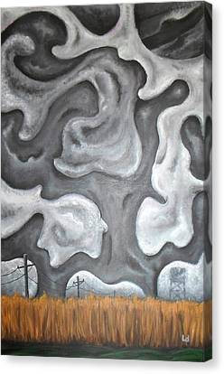 Panic Switch Canvas Print by Logan Hoyt Davis