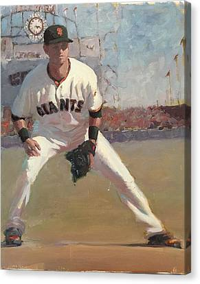 Canvas Print - Panik At Second by Darren Kerr