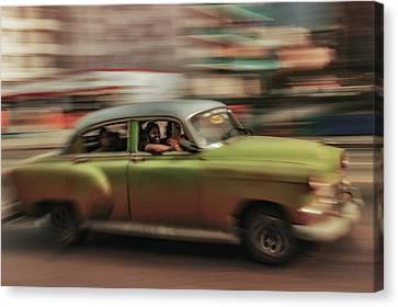 Panning Havana Canvas Print