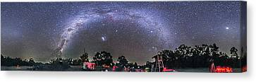 Panorama Of A Southern Hemisphere Star Canvas Print by Alan Dyer