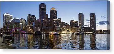 Panorama Of Boston Canvas Print by Igor Baranov