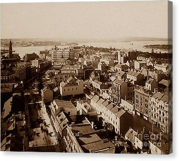 Panorama Of Sydney Australia Canvas Print by The Keasbury-Gordon Photograph Archive