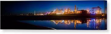 Panorama - Santa Cruz Boardwalk Canvas Print
