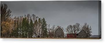 Panoramic Farm Scene Canvas Print by Paul Freidlund