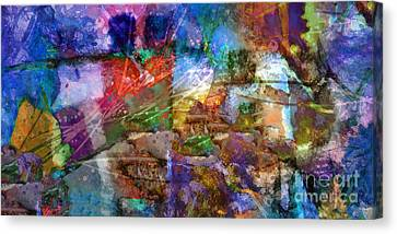 Panoramic Canvas Print by Lutz Baar