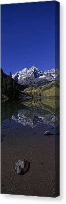 Panoramic View Of Autumn Colors Canvas Print