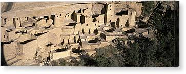 Verde River Canvas Print - Panoramic View Of Cliff Palace Cliff by Panoramic Images