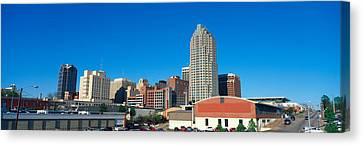 Panoramic View Of Memphis Tennessee Canvas Print