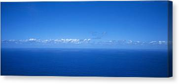 Panoramic View Of The Seascape Canvas Print by Panoramic Images