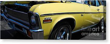 panoramic yellow Nova Canvas Print